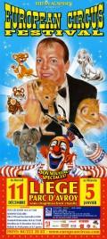 23ème European Circus Festival Circus poster - Belgium, 2013