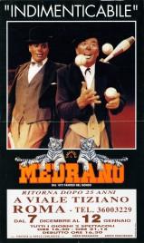 Circo Medrano Circus poster - Italy, 1996