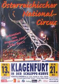 Österreichischer National-Circus Circus poster - Austria, 2003