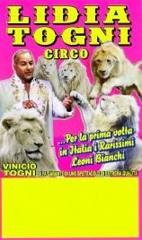 Circo Lidia Togni Circus poster - Italy, 2016