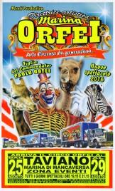 Circo Marina Orfei Circus poster - Italy, 2016