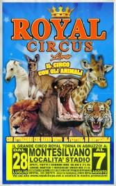 Royal Circus Loris Circus poster - Italy, 2018