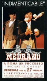 Circo Medrano Circus poster - Italy, 1997