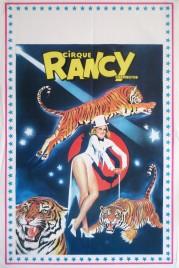 Cirque Rancy Carrington Circus poster - France, 1980