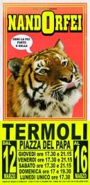 Circo Nando Orfei Circus poster - Italy, 2009