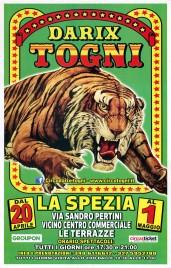 Circo Darix Togni Circus poster - Italy, 2019