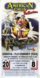 American Circus Circus poster - Italy, 2009