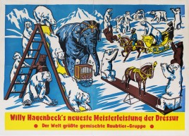 Circus Willy Hagenbeck Circus poster - Germany, 0