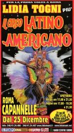 Circo Lidia Togni Circus poster - Italy, 2008