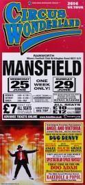 Circus Wonderland Circus poster - England, 2014