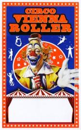 Circo Vienna Roller Circus poster - Italy, 2016