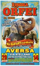 Circo Romina Orfei Circus poster - Italy, 2019