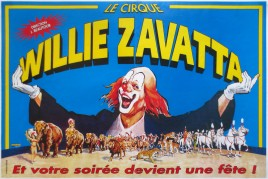 Cirque Willie Zavatta Circus poster - France, 0