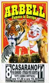 Circo Arbell Circus poster - Italy, 2013