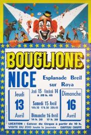 Cirque Bouglione Circus poster - France, 1978