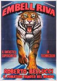 Supercircus Embell Riva Circus poster - Italy, 1981
