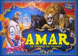 Cirque Amar Circus poster - France, 1999