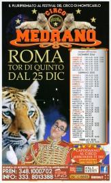 Circo Medrano Circus poster - Italy, 2014