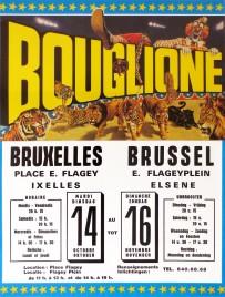 Cirque Bouglione Circus poster - Belgium, 1986