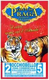 Circo di Praga Circus poster - Italy, 2015
