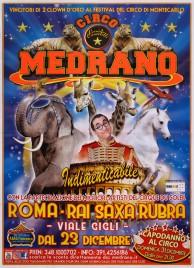 Circo Medrano Circus poster - Italy, 2017