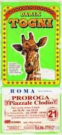 Circo Darix Togni Circus poster - Italy, 1999