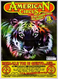 American Circus Circus poster - Italy, 2012