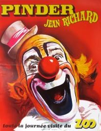 Pinder - Jean Richard Circus poster - France, 1986