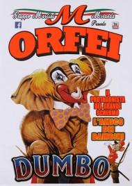 Circo Orfei Circus poster - Italy, 2019
