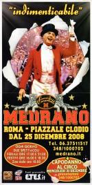 Circo Medrano Circus poster - Italy, 2008