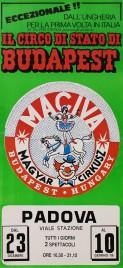 Il Circo di Stato di Budapest Circus poster - Italy, 1987