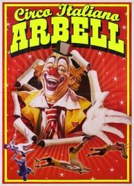 Circo Italiano Arbell Circus poster - Italy, 2016