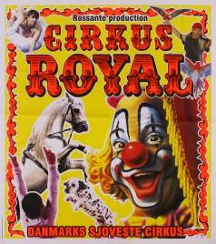 Cirkus Royal Circus poster - Denmark, 2012