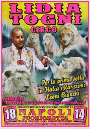 Circo Lidia Togni Circus poster - Italy, 2015