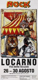 Circus Nock Circus poster - Switzerland, 1993