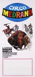 Circo Medrano Circus poster - Italy, 1981