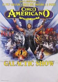 Circo Americano Circus poster - Italy, 1997