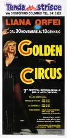 Liana Orfei 7° Golden Circus Circus poster - Italy, 1991