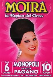 Circo Moira Orfei Circus poster - Italy, 2014