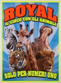 Royal Circus Circus poster - Italy, 2018