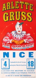 Cirque Arlette Gruss Circus poster - France, 1996