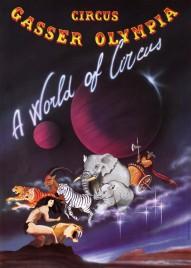 Circus Gasser Olympia Circus poster - Switzerland, 1994