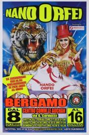 Circo Nando Orfei Circus poster - Italy, 2016