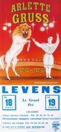 Cirque Arlette Gruss Circus poster - France, 1998