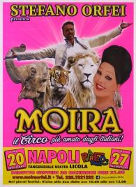 Circo Moira Orfei Circus poster - Italy, 2018