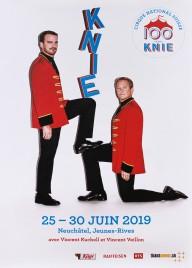 Circus Knie Circus poster - Switzerland, 2019