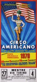 Circo Americano Circus poster - Italy, 1970