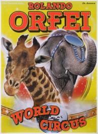 Circo Rolando Orfei Circus poster - Italy, 2017