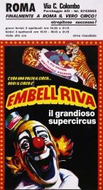 Circo Embell Riva Circus poster - Italy, 1987