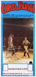 Circo di Parigi Circus poster - Italy, 0